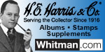 Genuine H.E. Harris products and quality postage stamps at www.whitman.com. POSTAGE STAMPS, STAMP ALBUMS & ANNUAL SUPPLEMENTS!