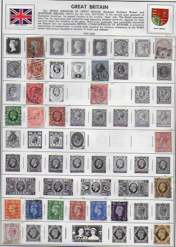 Inherited H E  Harris Stamp Albums - Stamp Community Forum