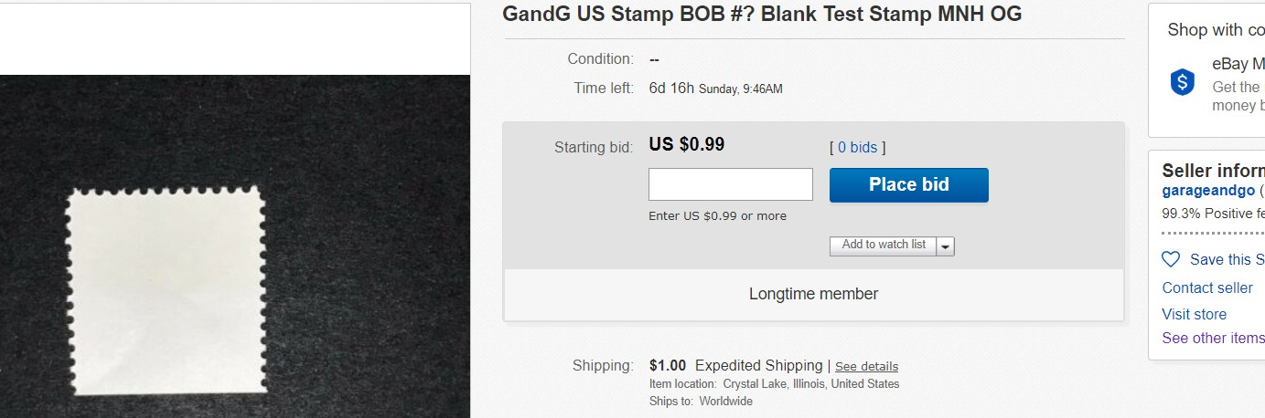Is This An Unlisted Blank Test Stamp Stamp Community Forum