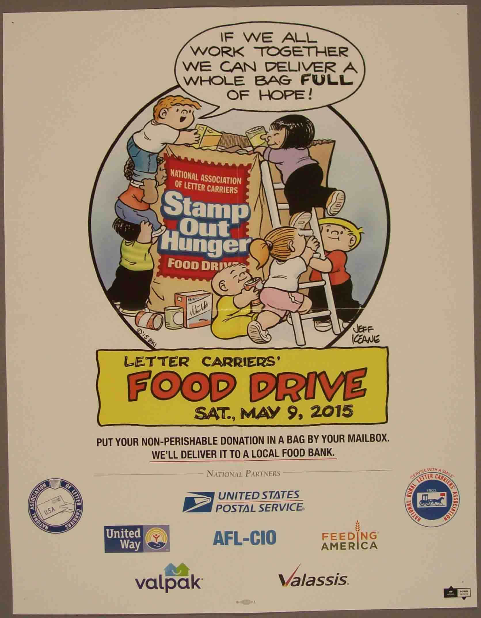 national association of letter carriers nalc national association of letter carriers food drive 23746