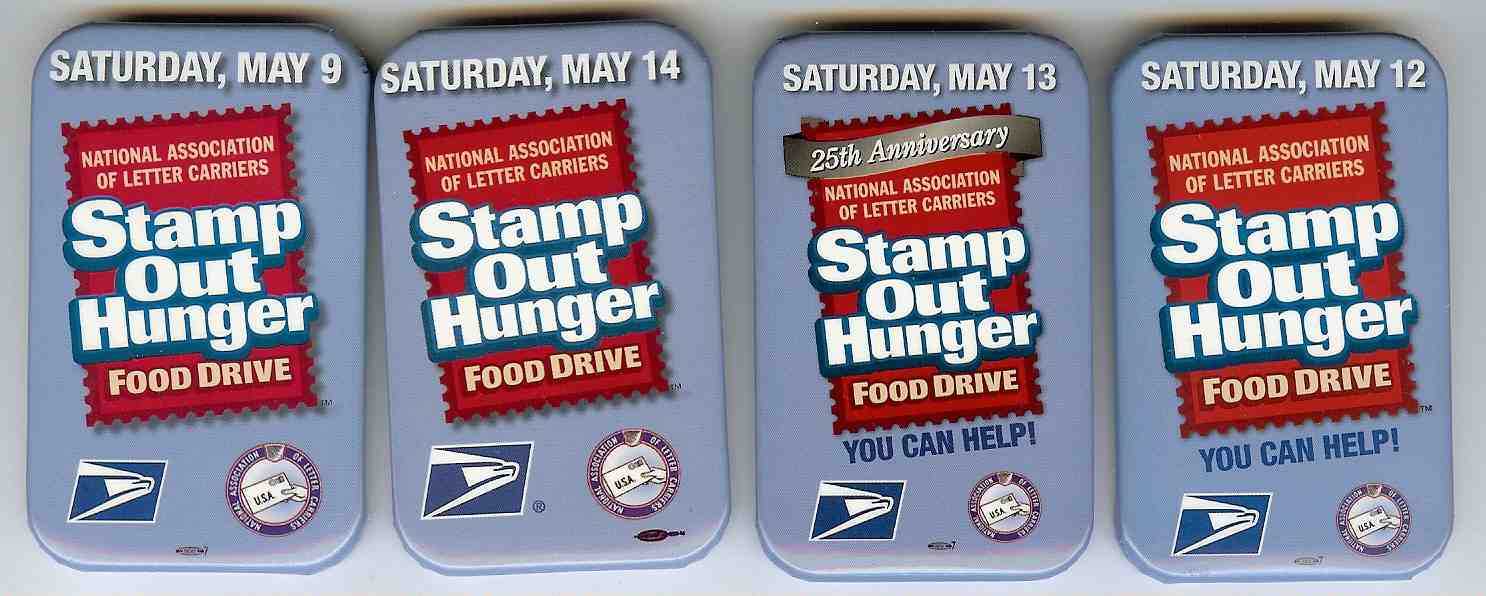 NALC - National Association of Letter Carriers Food Drive - Stamp ...