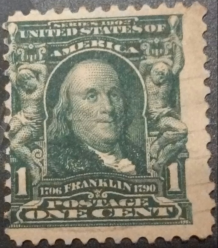 Used 1908 Franklin Stamps W Stamp Community Forum