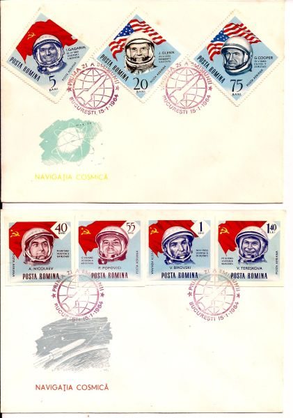Us And Ussr Flights In Cosmos Stamp Community Forum