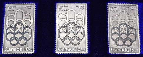 1976 Canada Olympic 16g Silver Stamps Stamp Community Forum