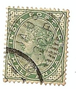 India 1855 Green Half Anna - Stamp Community Forum