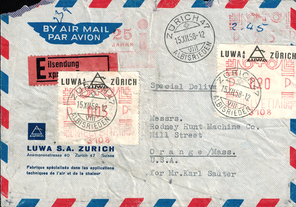 Netherlands Automat Stamps - Stamp Community Forum