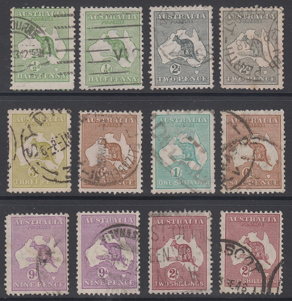 Small Kangaroo Collection Up For Auction On Ebay Low Starting Price Stamp Community Forum