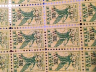Does Anyone Have Info On These Eagle Stamps