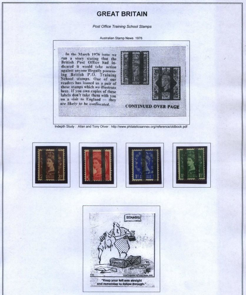Help id great britain 3d graphite lines stamp community forum - Great britain post office ...