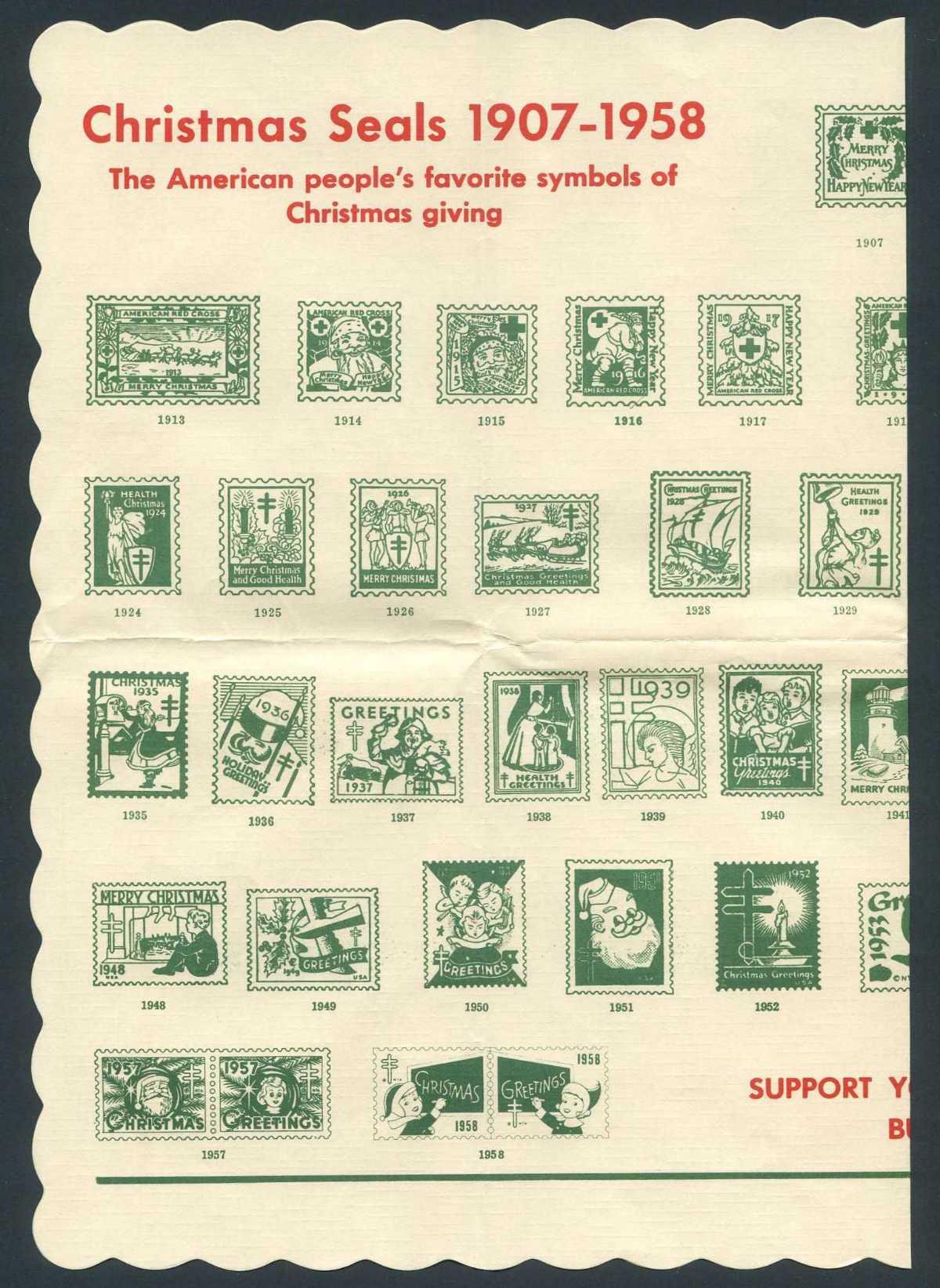 US Christmas Seals Album Pages - Stamp Community Forum