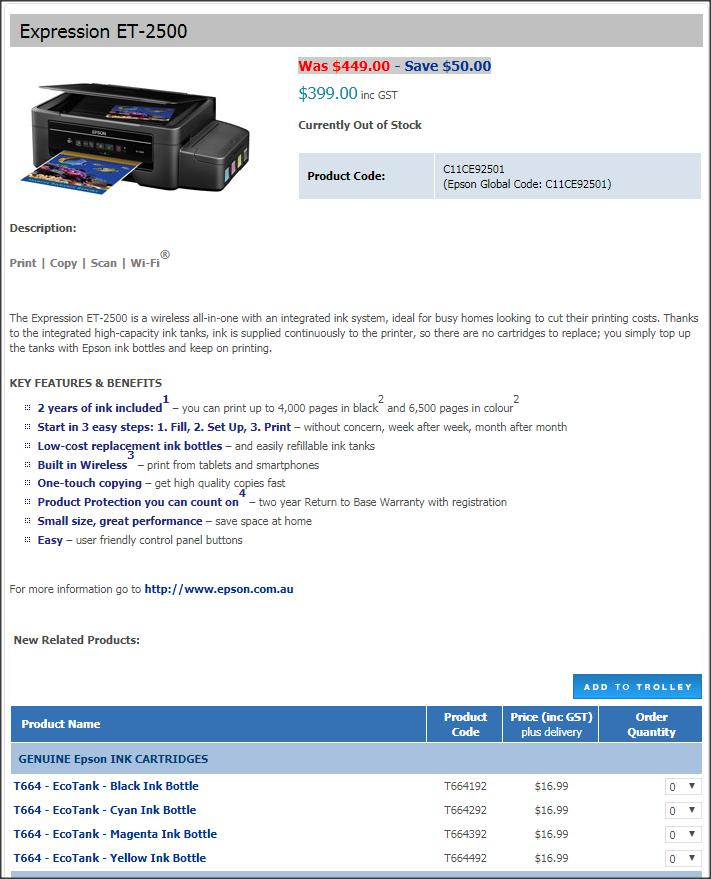 Epson EcoTank printers - Stamp Community Forum