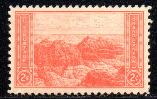 1934 national parks series and 1935 farley reprints for Stampe minuscole