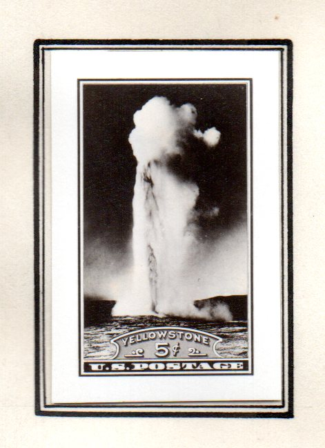 national parks series and farley reprints stamp as the other photographic essays these came from the collection of the director bureau of engraving and printing alvin hall