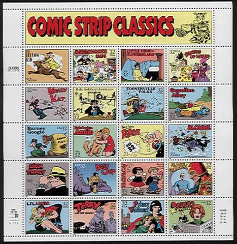Comic strip orphan donbi