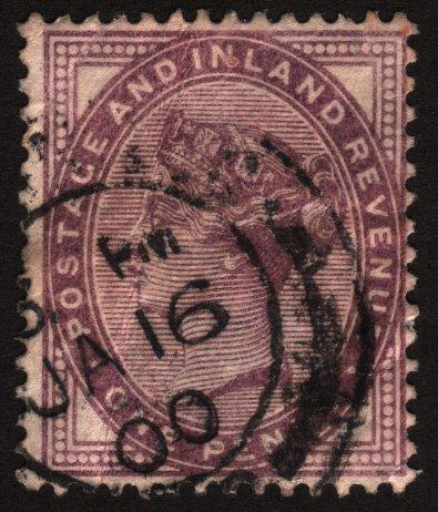 Great Britain Postage And Inland Revenue Scott 89