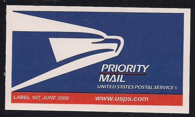 USPS Priority Mail Stickers (Label 107) - Stamp Community Forum