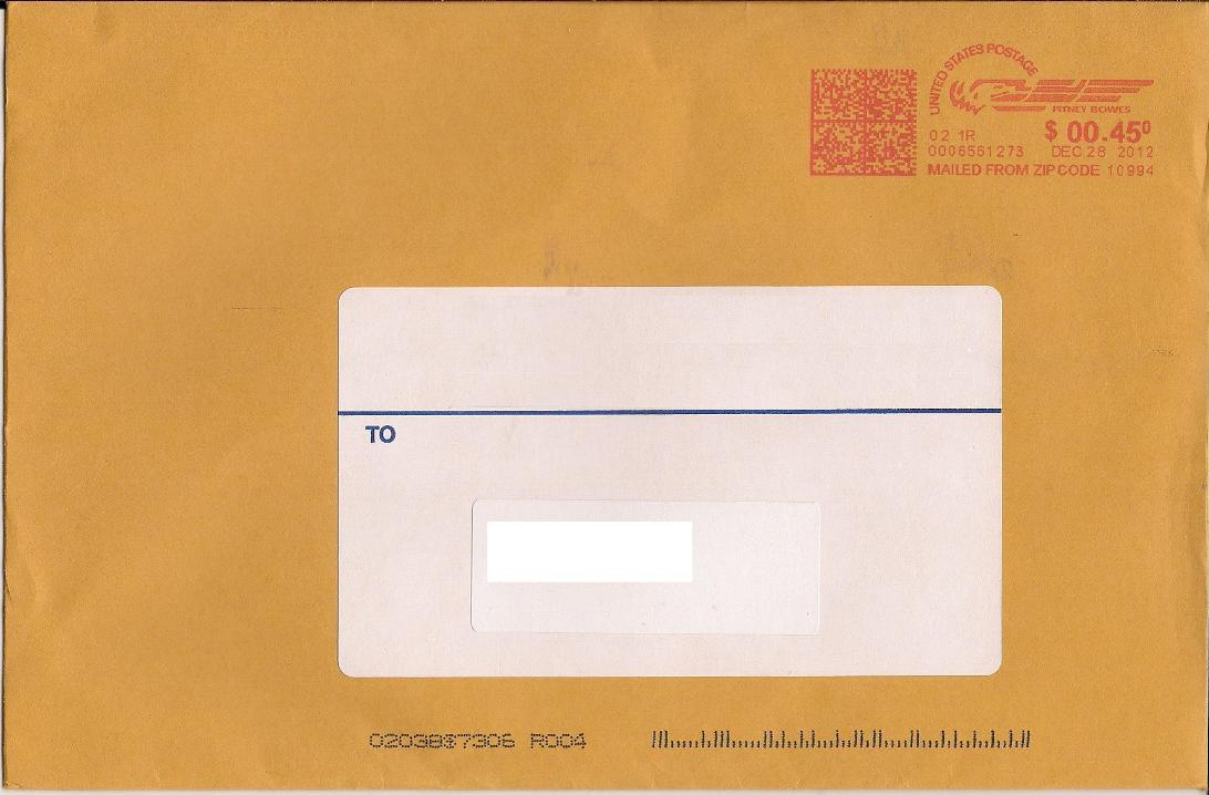 You can get away with a lot when you have a postage meter! - Stamp ...