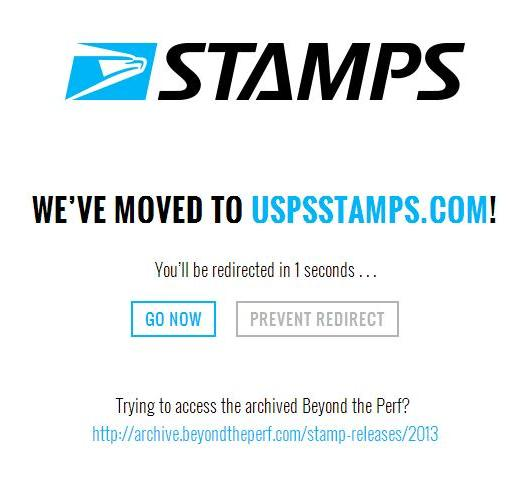 USPS Beyond The Perf Has A New Website USPSStamps