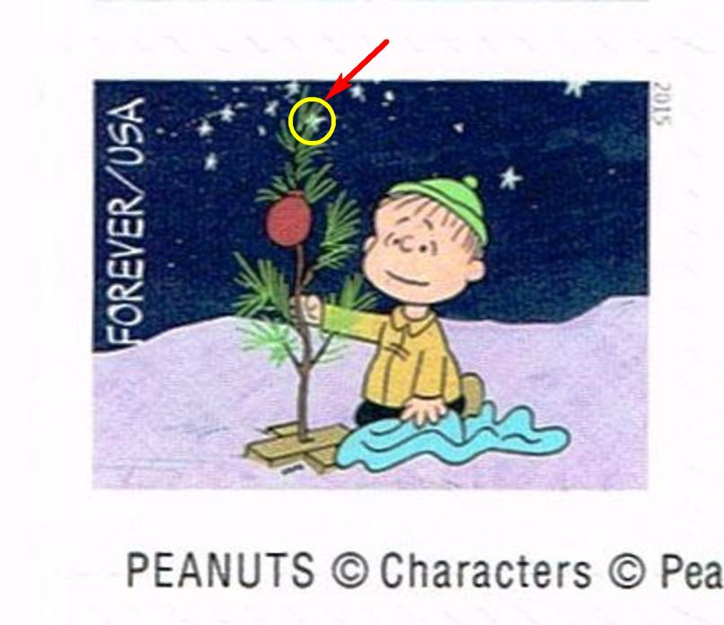 Flyspecking quot a charlie brown christmas quot stamps stamp community forum